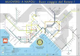 Metro Lines Map by Naples Metro Map Napoli Unplugged