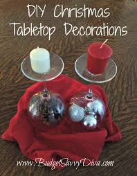 diy christmas decorations using wine glass and candles budget