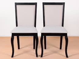 Buy Rubber Wood Furniture Bangalore Dijon Solid Dining Chairs Set Of 2 By Urban Ladder Buy And Sell