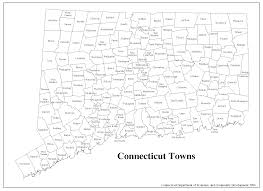 Blank Map Of The United States Of America by Decd Connecticut Maps