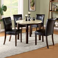 Decor For Dining Room Table Kitchen Ancient Black Chair Round Dining Table For 4design Ideas