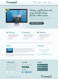 how to design a clean website template from scratch in adobe