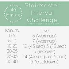 Stair Master Workout by Interval Cardio Shoulders Triceps The Fit Chocoholic