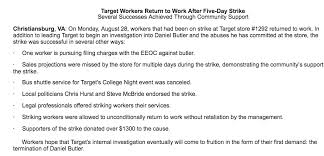black friday target store hours for 2017 workers strike at christiansburg target during move in news