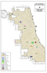 Public Transit Chicago Map by City Of Chicago Micro Market Recovery Program