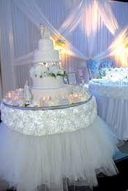 cake table decoration for wedding 5357