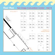 San Diego Convention Center Floor Plan by Sponsors U0026 Exhibits U2013 Pdi 2017