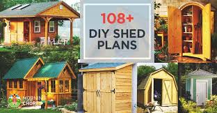 How To Build A Storage Shed Plans Free by 108 Diy Shed Plans With Detailed Step By Step Tutorials Free