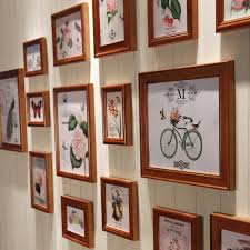 wooden photo frame picture more detailed picture about 16pcs set