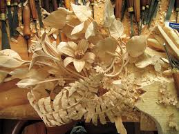 Wood Carving For Beginners Books by David Esterly Master Woodcarver Works In Limewood Like Grinling