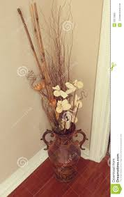 Decorative Home by Floral Decor In An Urn Stock Photo Image 50519856