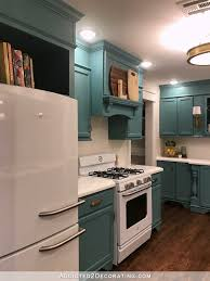 Teal Livingroom by My Finished For Now Kitchen From Kelly Green To Teal Before U0026 After