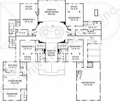 mansion house plans 8 bedrooms first floor plan front ep