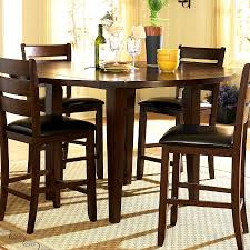chair modern bar height dining table with 8 chairs counter furn