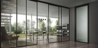 Open Home Office Furniture Full Exterior Glass Sliding Door For Open Home Office