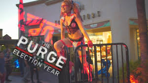 what are the hours for halloween horror nights orlando scare zones the purge at halloween horror nights 2016 universal