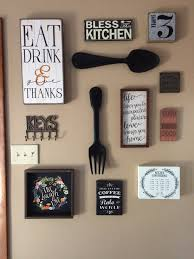 Kitchen Wall Pictures My Kitchen Gallery Wall All Decor From Hobby Lobby And Ross