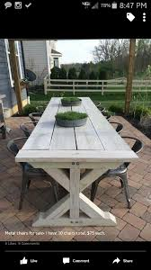 Best Price For Patio Furniture by Farmhouse Table For Outside Deck Pinterest Farmhouse Table