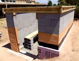 Building A Concrete Block House Alt Build Blog Building A Well House 3 More On Dry Stack