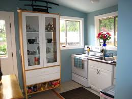 maximize small space green kitchen storage home remodeling ideas