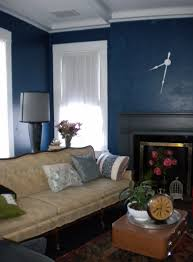 Navy Blue Wall Bedroom Spectacular Blue Living Room Walls Image Of Modern Luxury Home