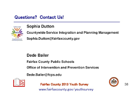 Fairfax County Youth Survey School Year            Teen Dating Abuse SlideShare Questions