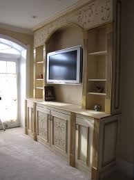 Wall Unit Storage Bedroom Furniture Sets Bedroom Mesmerizing Wooden 4 Tier Open Shelves With Curved Top