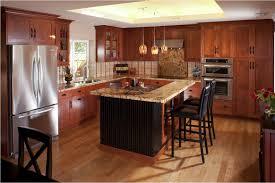 kitchen magnificent light cherry wood kitchen cabinets below