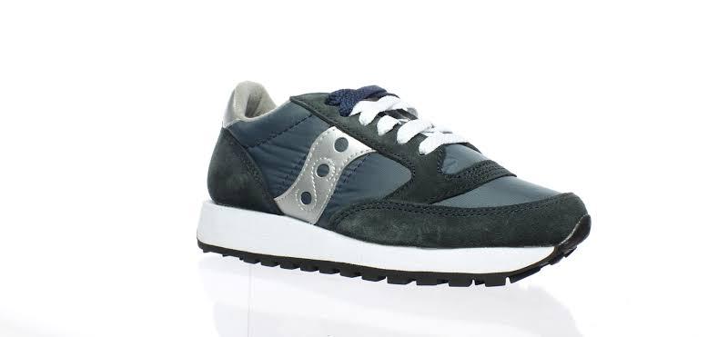 Saucony Jazz Original Navy/Silver Fashion Sneaker