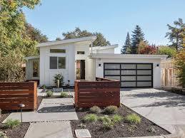 midcentury modern in sonoma has lush backyard open floor plan