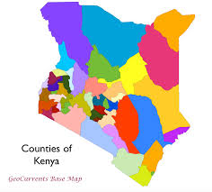 Map Of Kenya Africa by Geocurrents Maps Of Kenya Geocurrents