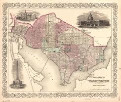 Map Of Washington Cities by Living City Washington Dc