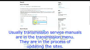 erwin service manuals quick how to youtube