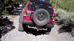 nissan pathfinder rear bumper nissan pathfinder off road 4x4 youtube