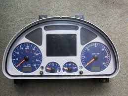 iveco stralis kmh to mph speedo meter clocks dials