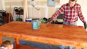 Plans For Building A Wooden Workbench by Diy Simple Workbench Project Woodworking Bench
