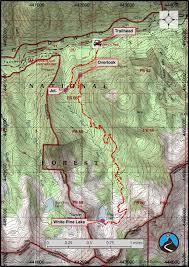 Lake Powell Map Hiking White Pine Lake Little Cottonwood Canyon Road Trip Ryan