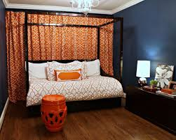 Navy Blue Wall Bedroom Bedroom Cool Picture Of Cool Spare Room Decoration Using Textured