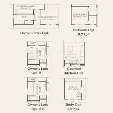 Barn Floor Plans With Loft Courtyard At Ansley Meadow In Allen Texas Pulte