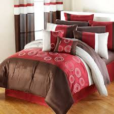 Red King Comforter Sets Bedroom Comforters And Bedspreads King Size Comforter Sets