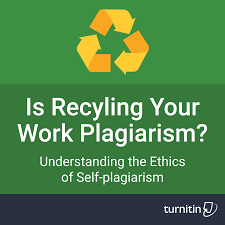 Turnitin Is Recycling Your Own Work Plagiarism Turnitin     FAMU Online