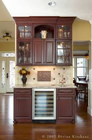 wet bar design in the kitchen