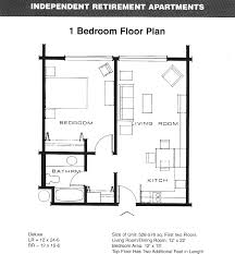 1 bedroom apartment layout home design