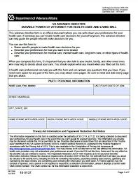 Free Durable Power Of Attorney For Health Care Form by Free Durable Power Of Attorney For Health Care Form Virginia