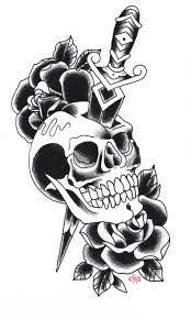 old owl and bones tattoo design photos pictures and
