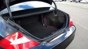 2006 mercedes benz cls500 black stock h1925 trunk youtube