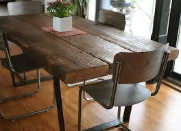 Emejing Barn Wood Dining Room Tables Pictures Home Design Ideas - Barnwood kitchen table