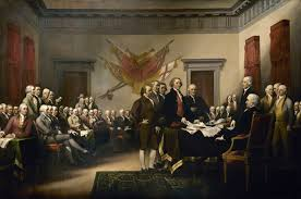 of declaring independence