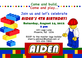 Free Printable Birthday Invitation Cards With Photo Free Printable Lego City Birthday Invitations Birthdays