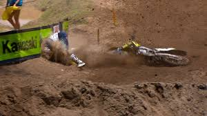 motocross news james stewart lucas oil pro motocross james stewart crash southwick